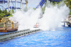 People experience water ride summer fun Stock Photography