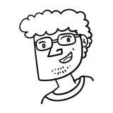 People Face Character Cartoon Illustration libre illustration