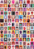 People faces collage Royalty Free Stock Photography