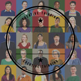 People Faces Portrait Multiethnic Cheerful Group Concept Royalty Free Stock Photo