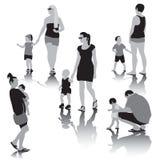 People Family stock illustration