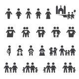 People and family icon Stock Photos