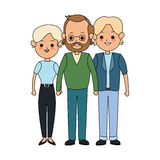 People or family members icon image. Illustration design Stock Photography