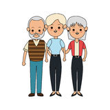 People or family members icon image. Illustration design Stock Images