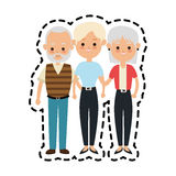 People or family members icon image. Illustration design Royalty Free Stock Photos
