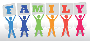 People Family Stock Image