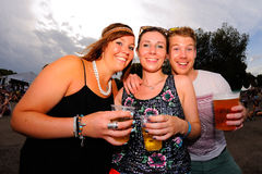 People at FIB Festival Stock Images