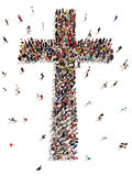 People finding Christianity, religion and faith. Stock Images