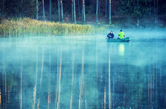 People fishing Royalty Free Stock Photo