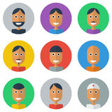 People Flat icons collection, Royalty Free Stock Images