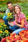 People florists stock photos