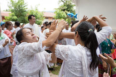 People folk dance Royalty Free Stock Images