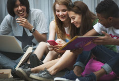 People Friendship Togetherness Activity Youth Culture Concept royalty free stock photos