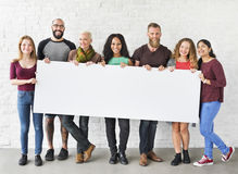 People Friendship Togetherness Copy Space Banner Concept. People Friendship Togetherness Copy Space Banner royalty free stock photo