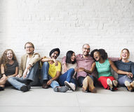 People Friendship Togetherness Leisure Happiness Concept.  Stock Photography