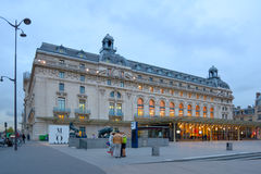 People in front of Musee d'Orsay, Paris Stock Photography