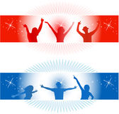People Fun - decorations Royalty Free Stock Image