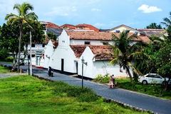 People in Galle Town, Sri Lanka. This image was taken in Galle city, Sri Lanka Royalty Free Stock Photos