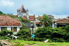 People in Galle Town, Sri Lanka. This image was taken in Galle city, Sri Lanka Royalty Free Stock Photography