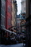 People in Gamla Stan Royalty Free Stock Image