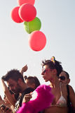 People at Gay Pride 2013 in Palermo Stock Image