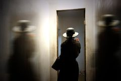 People, Girl, Alone, Black, Hat Royalty Free Stock Photo