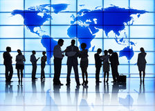 People and Global Business Meeting Stock Images