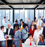 People Global Communication Office Discussion Conversation Group Royalty Free Stock Image