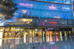 People go shopping at the Zeil Stock Photography