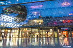 People go shopping at the Zeil Stock Photo