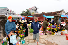 People go to market Stock Image