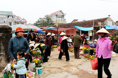 People go to market Stock Images