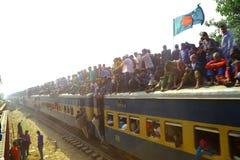People going to Ijtema Global Congregation Stock Photos