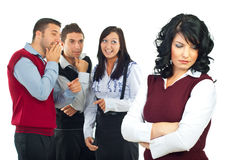 People gossip Stock Image