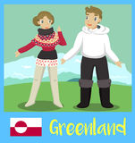 People of Greenland Royalty Free Stock Photo