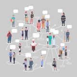 People Group Conncetion Different Occupation Set Workers Profession Collection Royalty Free Stock Photo