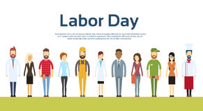 People Group Different Occupation Set, International Labor Day Royalty Free Stock Photography