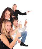 People Group Gesturing Showing Royalty Free Stock Photography