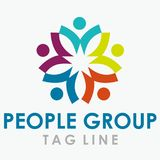 People Group Logo avtive 2 Stock Images