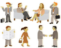 People group (office) Stock Photography