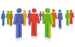 People group symbol Stock Image