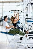 People at the gym Royalty Free Stock Image