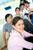 People at the gym Stock Photos