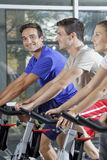 People in a gym Royalty Free Stock Photography