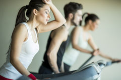 People in the gym Royalty Free Stock Photography