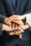 People hands together Royalty Free Stock Images