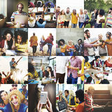 People Happiness Party Fun Playful Concept Royalty Free Stock Photography