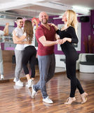 People having dancing class Stock Photos