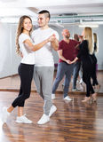 People having dancing class Stock Photography