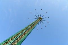 People Having Fun In Carousel Swing Ride royalty free stock photos